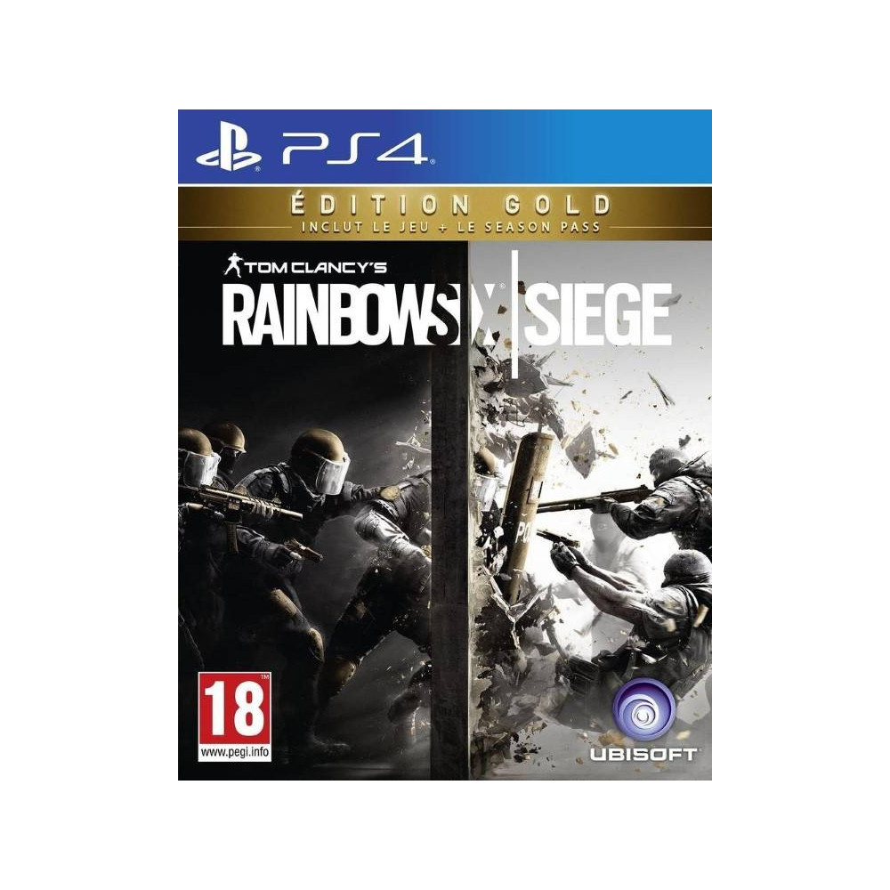 RAINBOW SIX SIEGE EDITION GOLD PS4 FR NEW