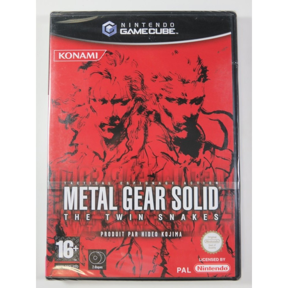 METAL GEAR SOLID THE TWIN SNAKES GAMECUBE (GC) PAL-FR (NEUF - BRAND NEW)