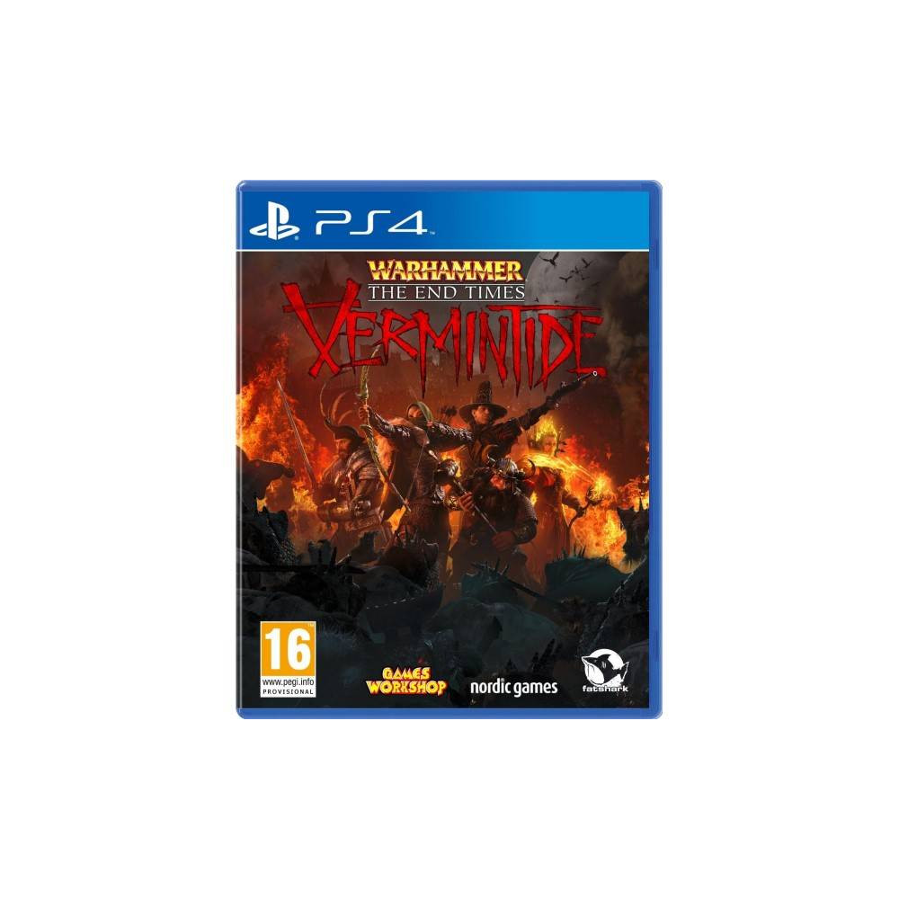 WARHAMMER THE END TIMES VERMINTIDE PS4 FR NEW