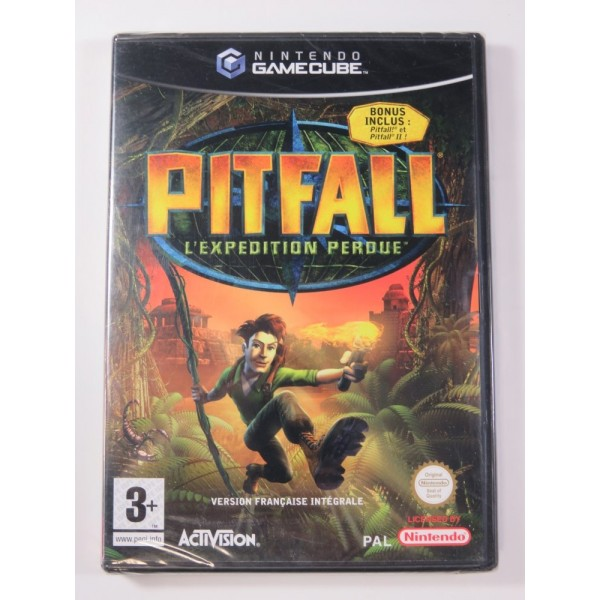 PITFALL L EXPEDITION PERDUE GAMECUBE (GC) PAL-FR (NEUF - NEW)