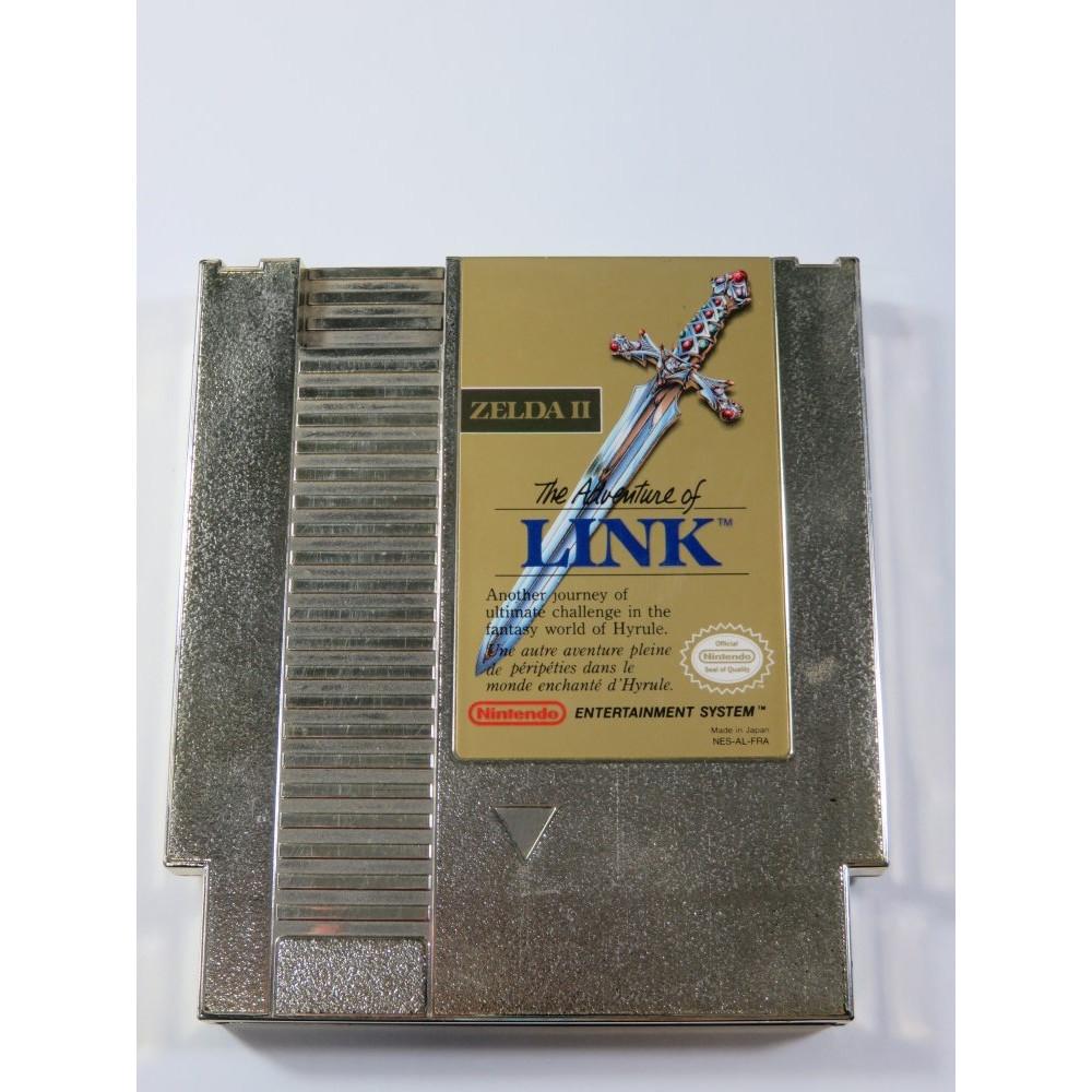 THE ADVENTURE OF LINK - ZELDA II NES PAL-B FRA (CARTRIDGE ONLY)