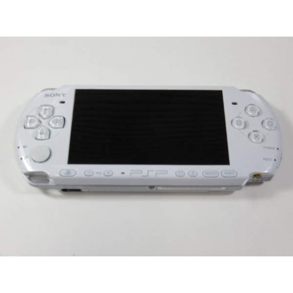 CONSOLE SONY PSP 3004 BLANCHE (SANS BOITE NI NOTICE) - (WITHOUT BOX AND MANUAL)
