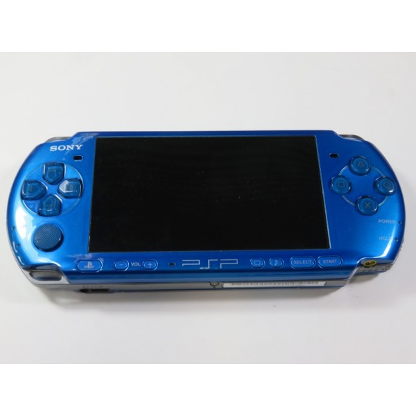CONSOLE SONY PSP 3004 BLEU (SANS BOITE NI NOTICE) - (WITHOUT BOX AND MANUAL)