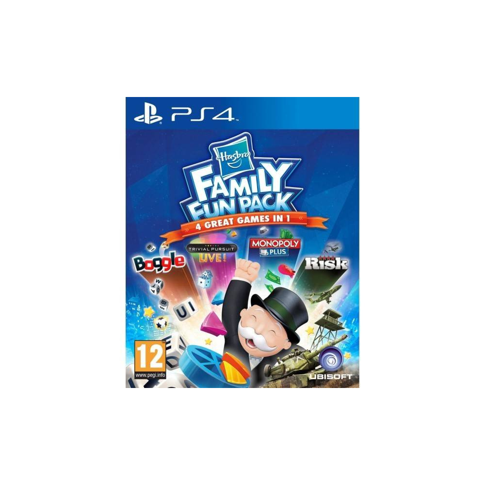 HASBRO FAMILY FUN PACK PS4 FR OCCASION