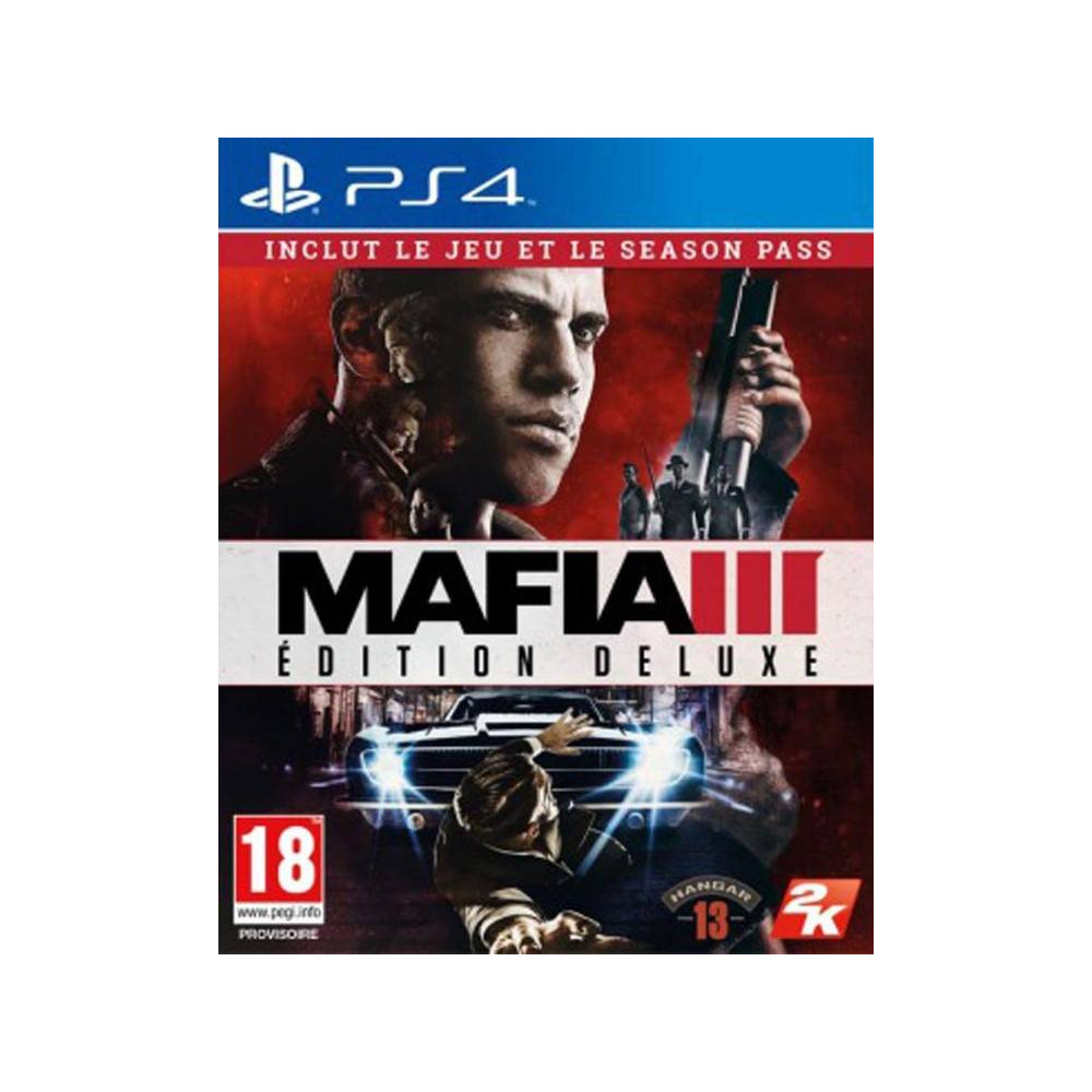 MAFIA 3 EDITION DELUXE PS4 FR OCCASION