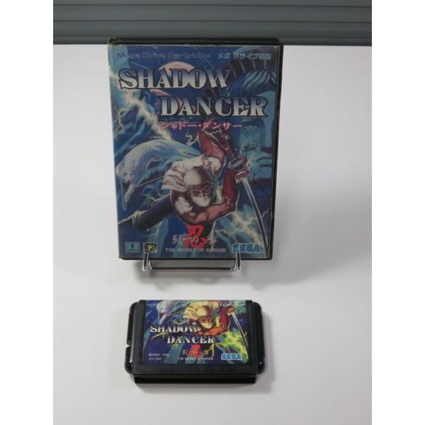 SHADOW DANCER - THE SECRET SHINOBI SEGA MEGADRIVE NTSC-JPN (WITHOUT MANUAL) (SHINOBI SERIES)