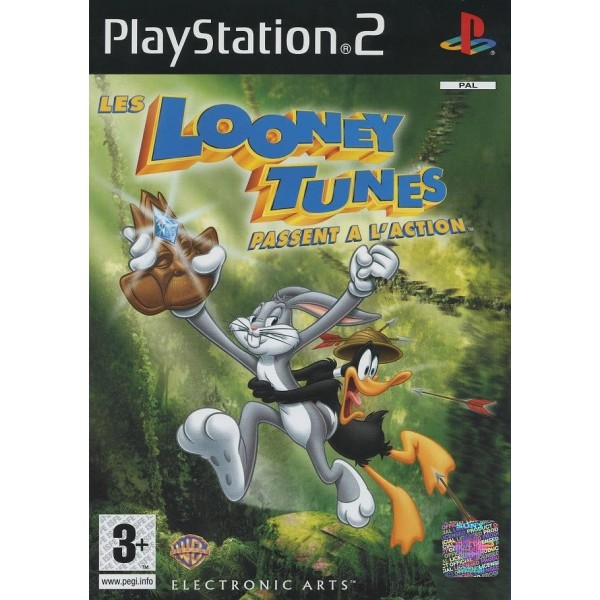 LES LOONEY TUNES PASSENT A L ACTION PS2 PAL-FR OCCASION
