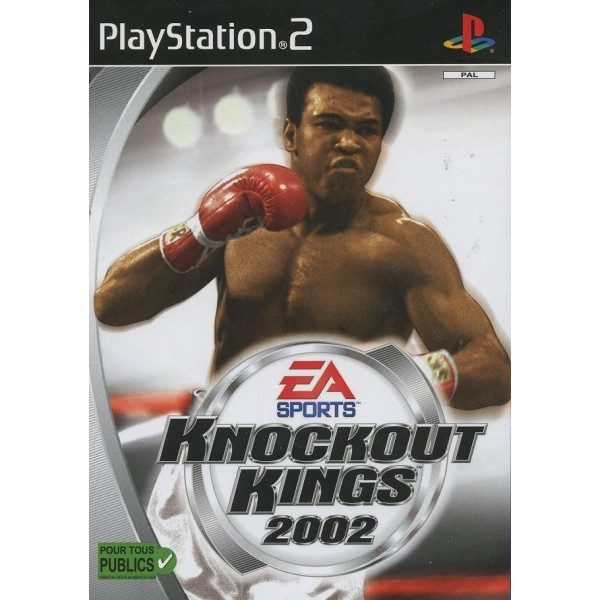 KNOCKOUT KINGS 2002 PS2 PAL-FR OCCASION
