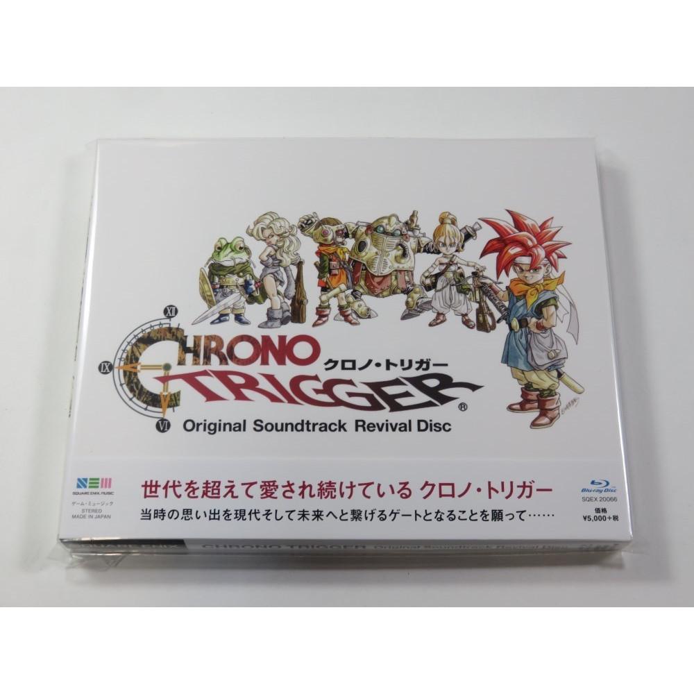 CD CHRONO TRIGGER ORIGINAL SOUNDTRACK REVIVAL DISC (BLU RAY) JPN NEUF - BRAND NEW