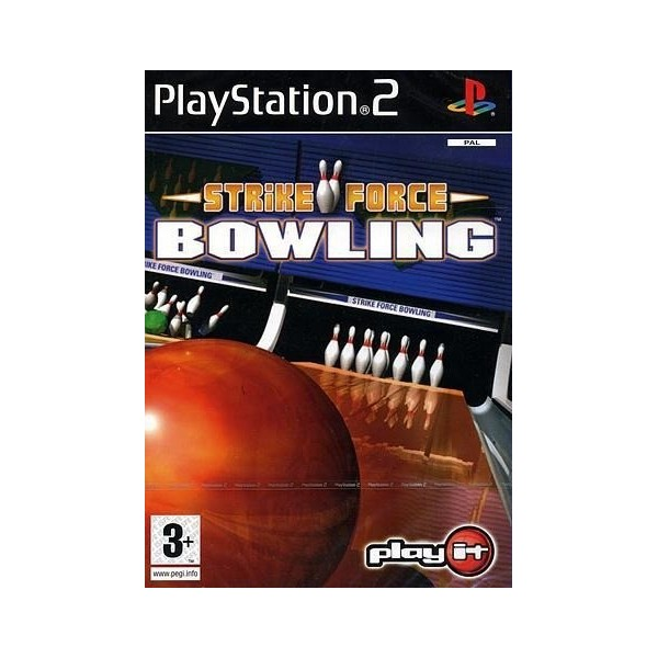 STRIKE FORCE BOWLING PS2 PAL-FR OCCASION