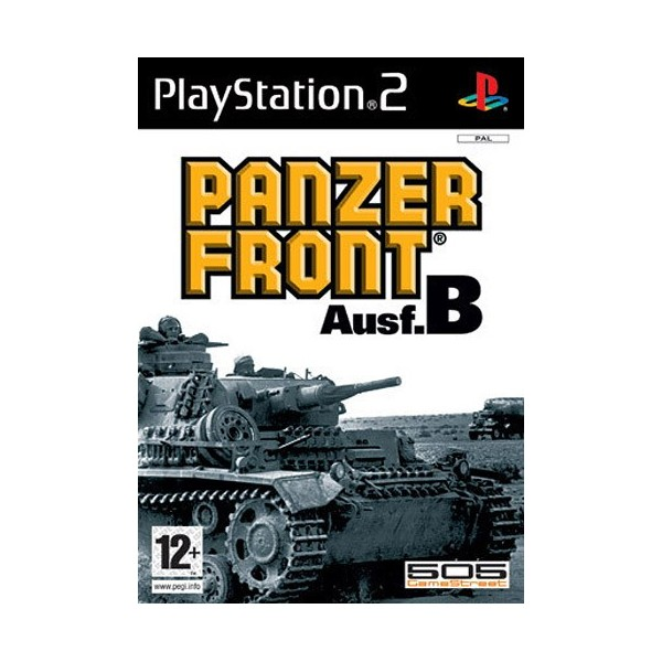 PANZER FRONT AUSF.B PS2 PAL-FR OCCASION