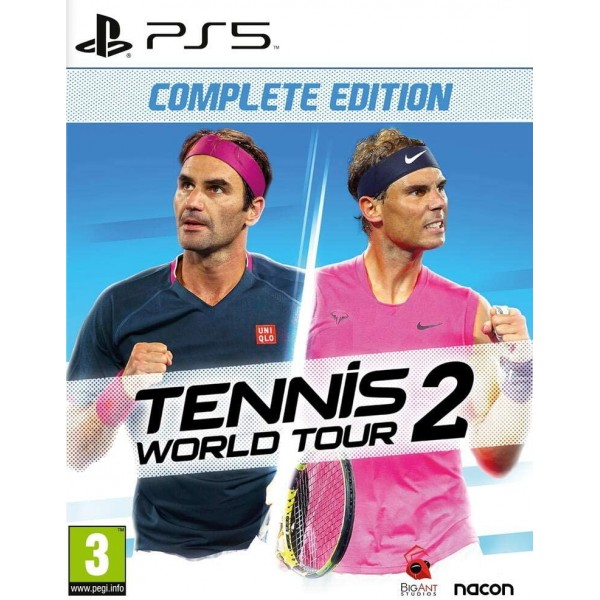 TENNIS WORLD TOUR 2 COMPLETE EDITION PS5 EURO FR NEW