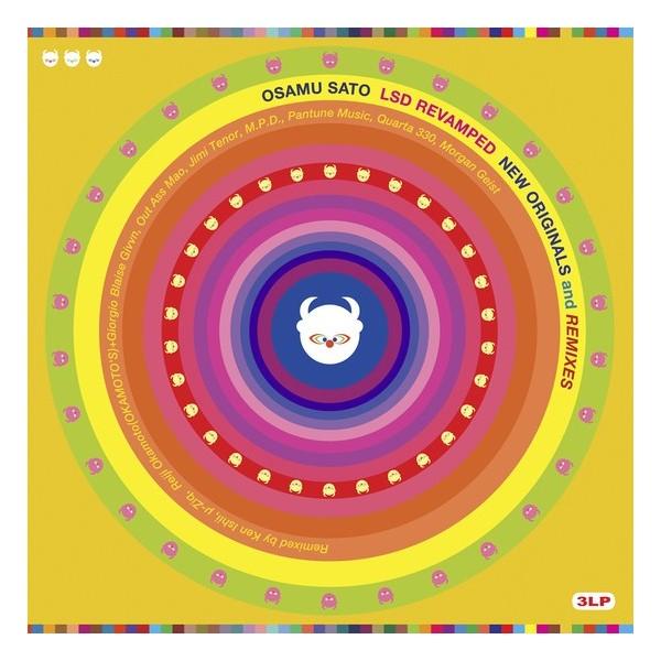 VINYLE OSAMU SATO LSD REVAMPED (3 RED LP) SHIP TO SHORE STS-038 NEW