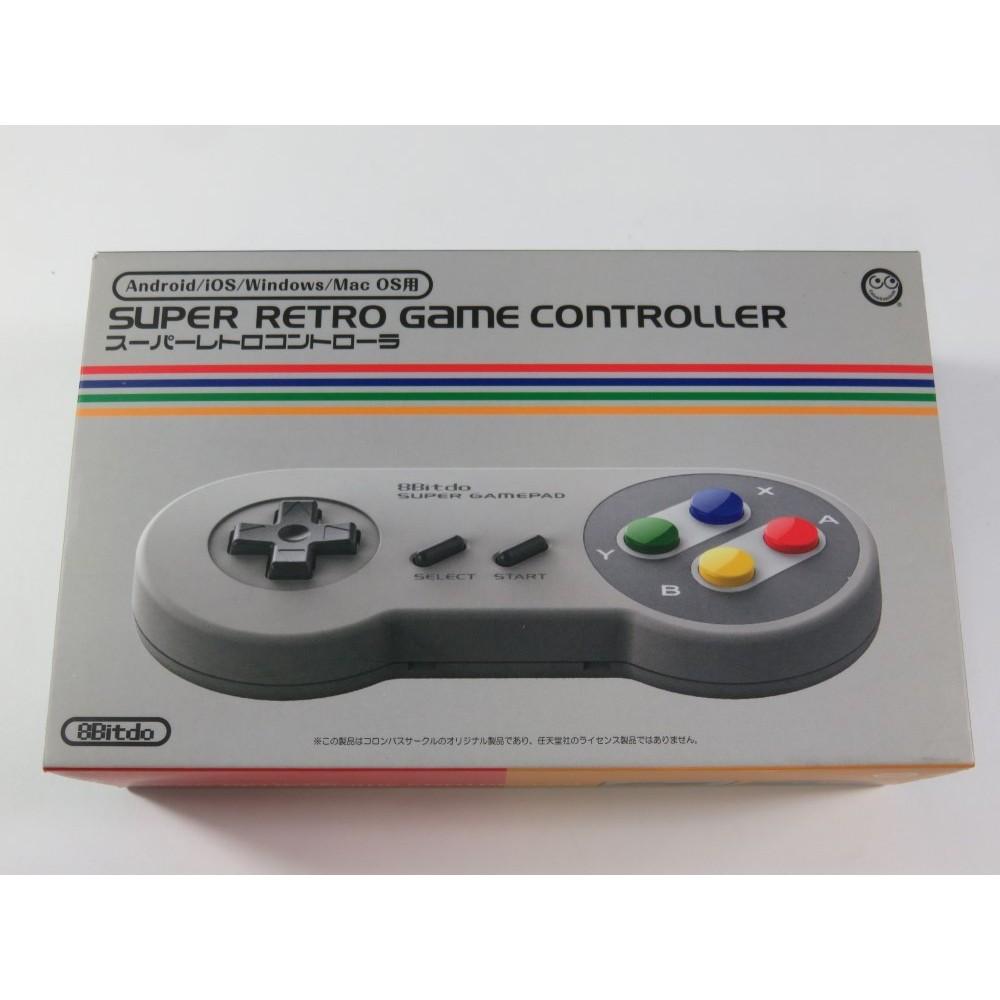 SUPER RETRO GAME CONTROLLER (ANDROID - IOS - WINDOWS - MAC OS) - (8BITDO - COLUMBUSCIRCLE) - (GOOD CONDITION)