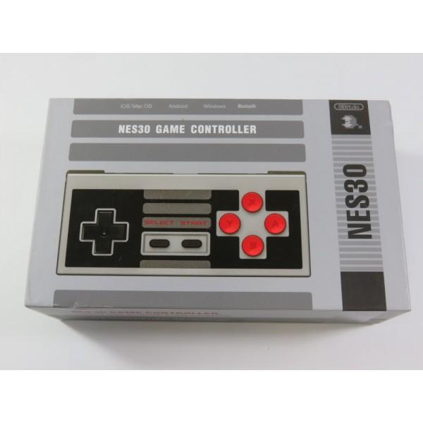 CONTROLLER NES30 GAME CONTROLLER (8BITDO) - (IOS - ANDROID - MAC OS - WINDOWS) - (VERY GOOD CONDITION)