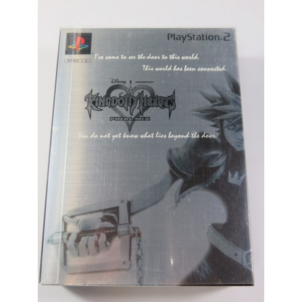 KINGDOM HEARTS FINAL MIX PLATINUM LIMITED EDITION PLAYSTATION 2 (PS2) NTSC-JPN (COMPLETE - VERY GOOD CONDITION)