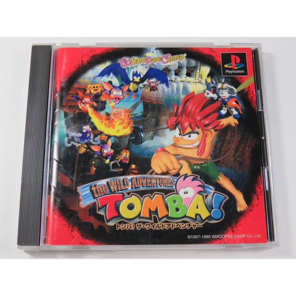 TOMBA! THE WILD ADVENTURES PLAYSTATION (PS1) NTSC-JPN (COMPLETE - VERY GOOD CONDITION)