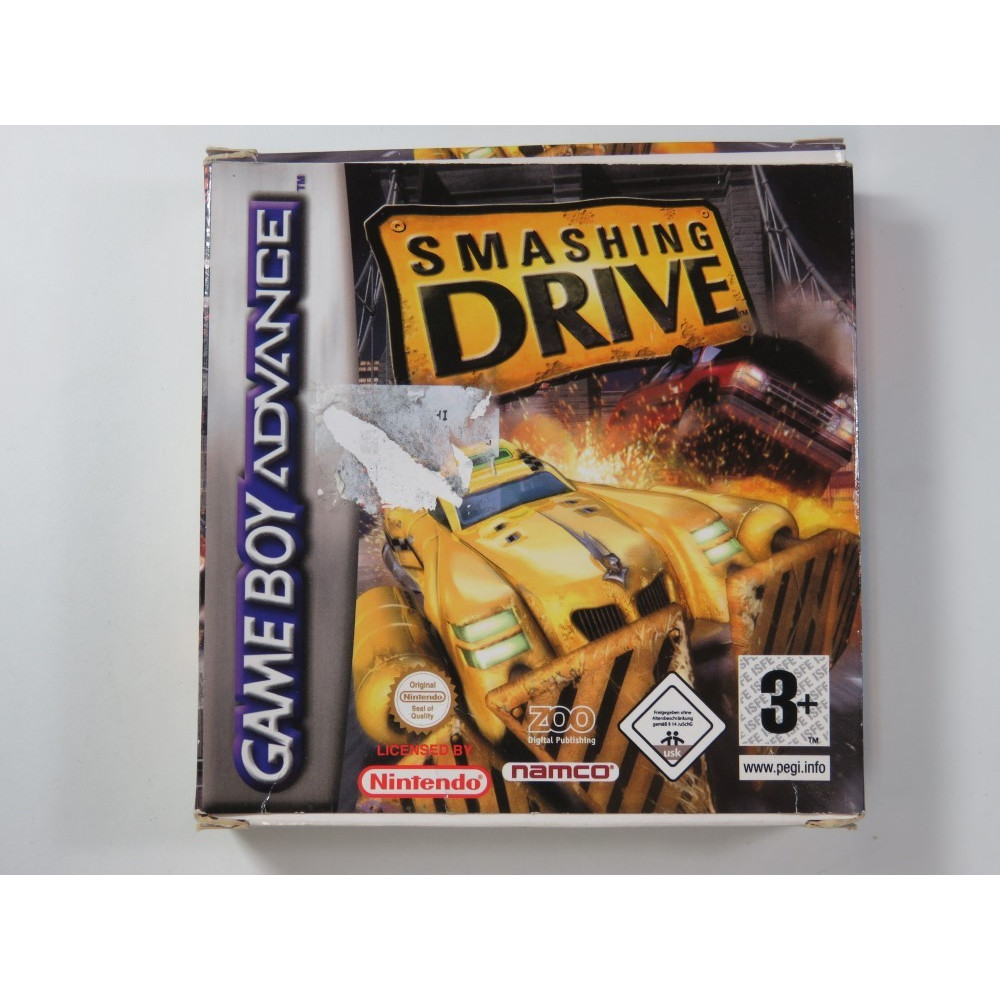 SMASHING DRIVE GAMEBOY ADVANCE (GBA) EUR (COMPLETE - GOOD CONDITION OVERALL)