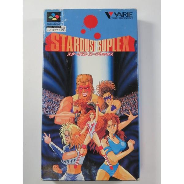 STARDUST SUPLEX SUPER FAMICOM (SFC) NTSC-JPN (COMPLETE - GOOD CONDITION OVERALL)