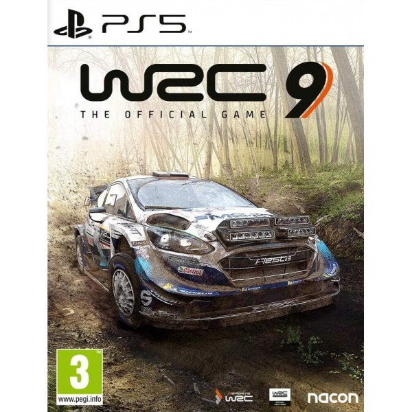 WRC 9 THE OFFICIAL GAME PS5 FR NEW