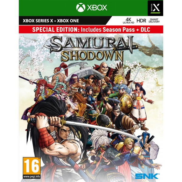 SAMURAI SHODOWN SPECIAL EDITION XBOX ONE / XBOX SERIES X UK NEW