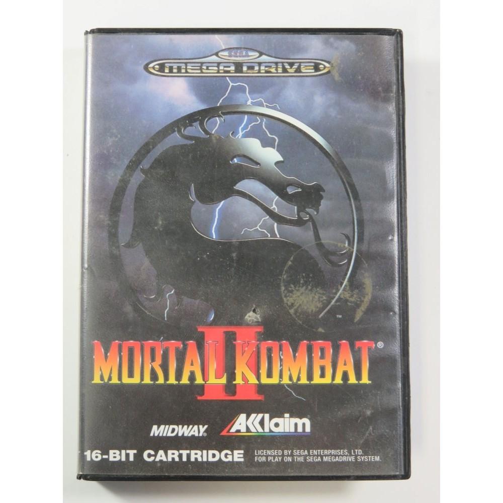 MORTAL KOMBAT II SEGA MEGADRIVE PAL-EURO (COMPLETE - MANUAL DAMAGED)