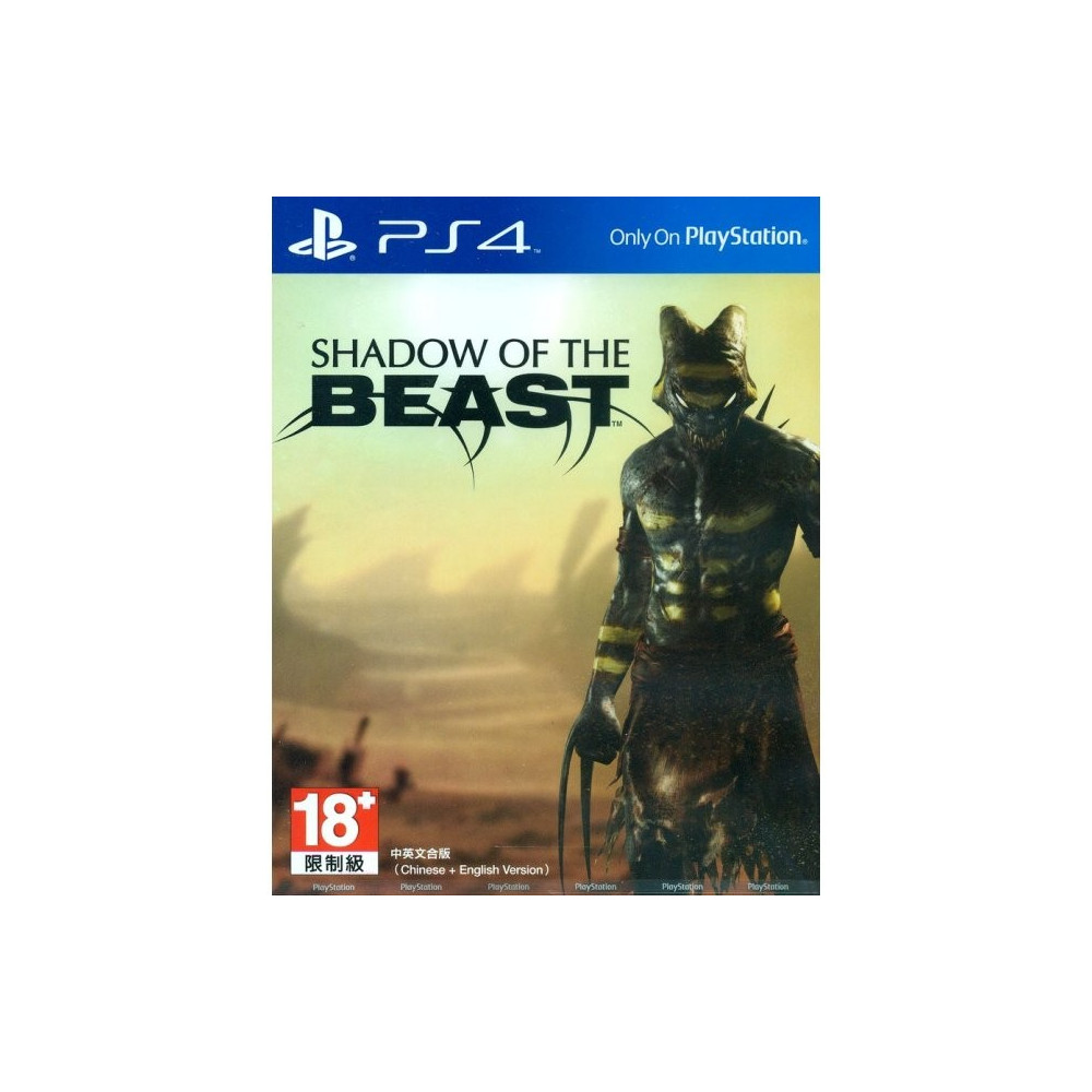 SHADOW OF THE BEAST PS4 ASIAN