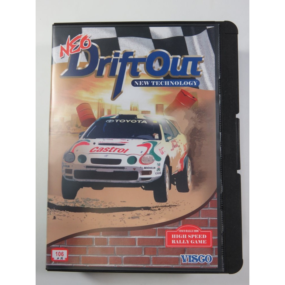 NEO DRIFT OUT NEOGEO AES JAPAN NEW