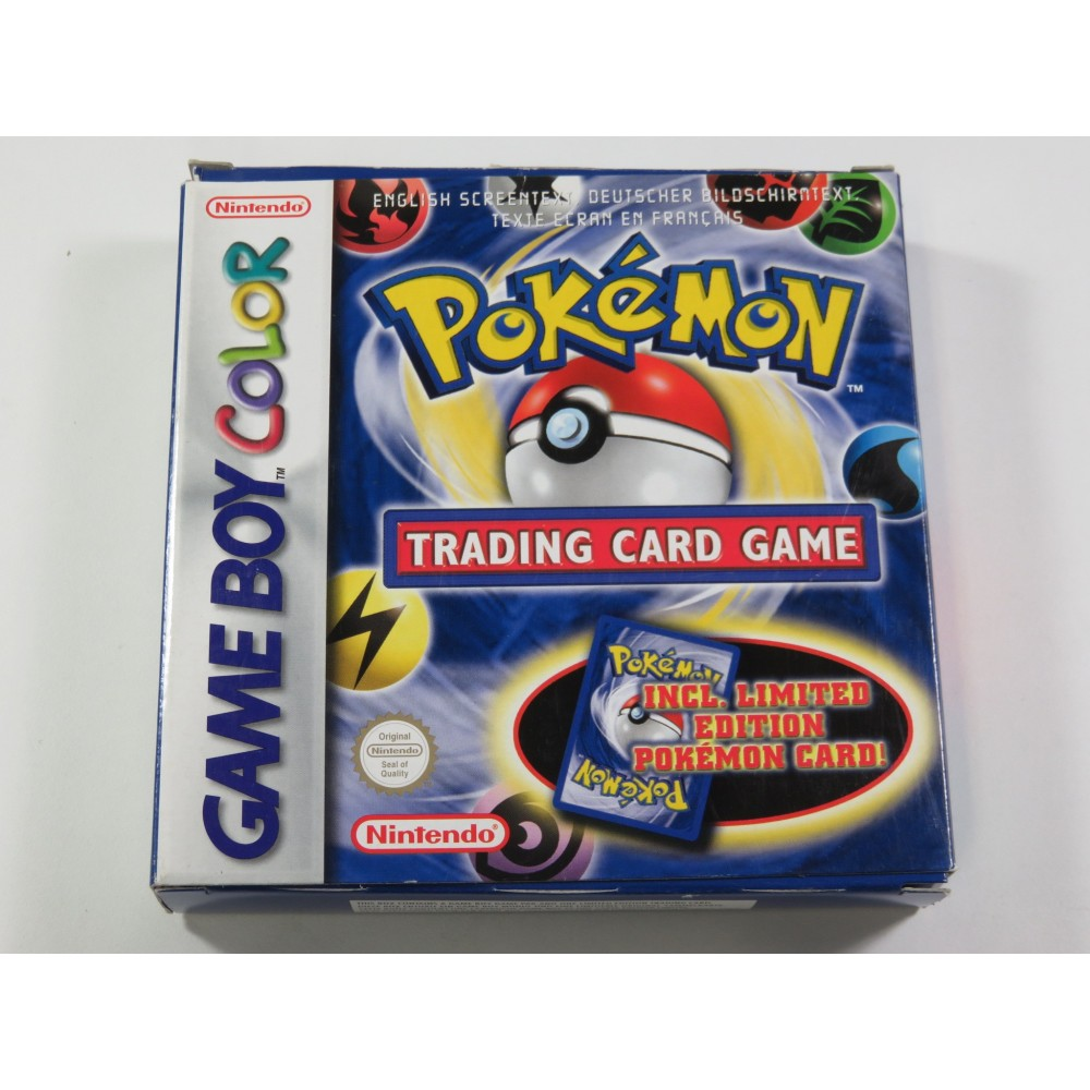POKEMON TRADING CARD GAME GAMEBOY COLOR (GBC) NFHUG (SANS CARTES - WITHOUT CARD) - (GOOD CONDITION OVERALL)