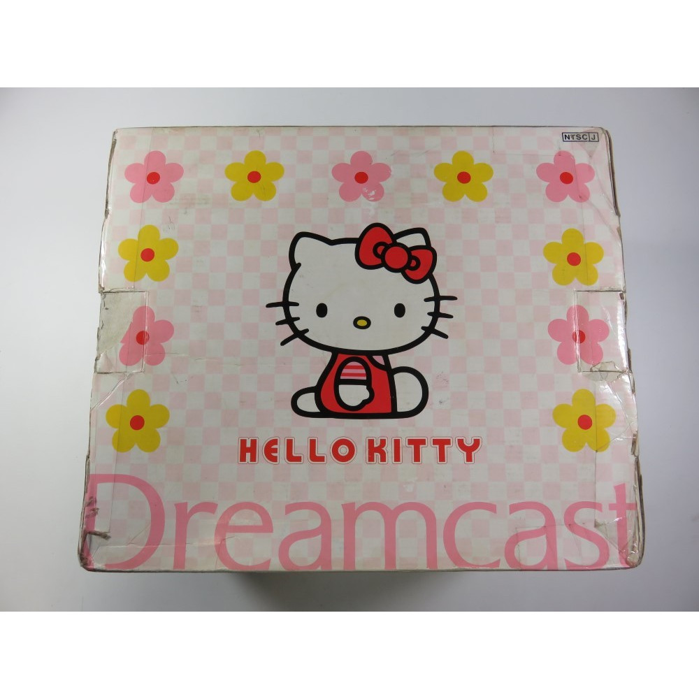 CONSOLE SEGA DREAMCAST BUNDLE HELLO KITTY PINK EDITION NTSC-JPN (BOXED - WITHOUT MANUAL AND VISUAL MEMORY AND GAMES)