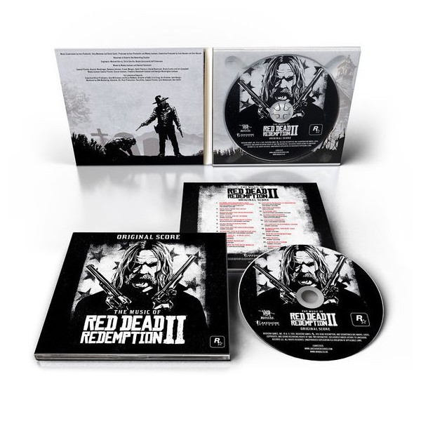 CD RED DEAD REDEMPTION II ORIGINAL SCORE (DIGIPACK) NEW