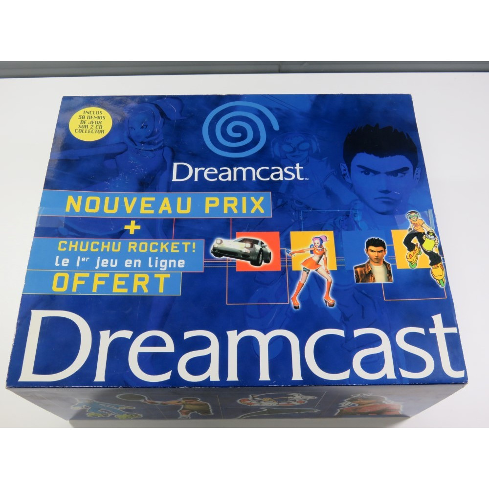 CONSOLE SEGA DREAMCAST PAL-EURO (BOXED - WITHOUT CD DEMO - VERY GOOD CONDITION)