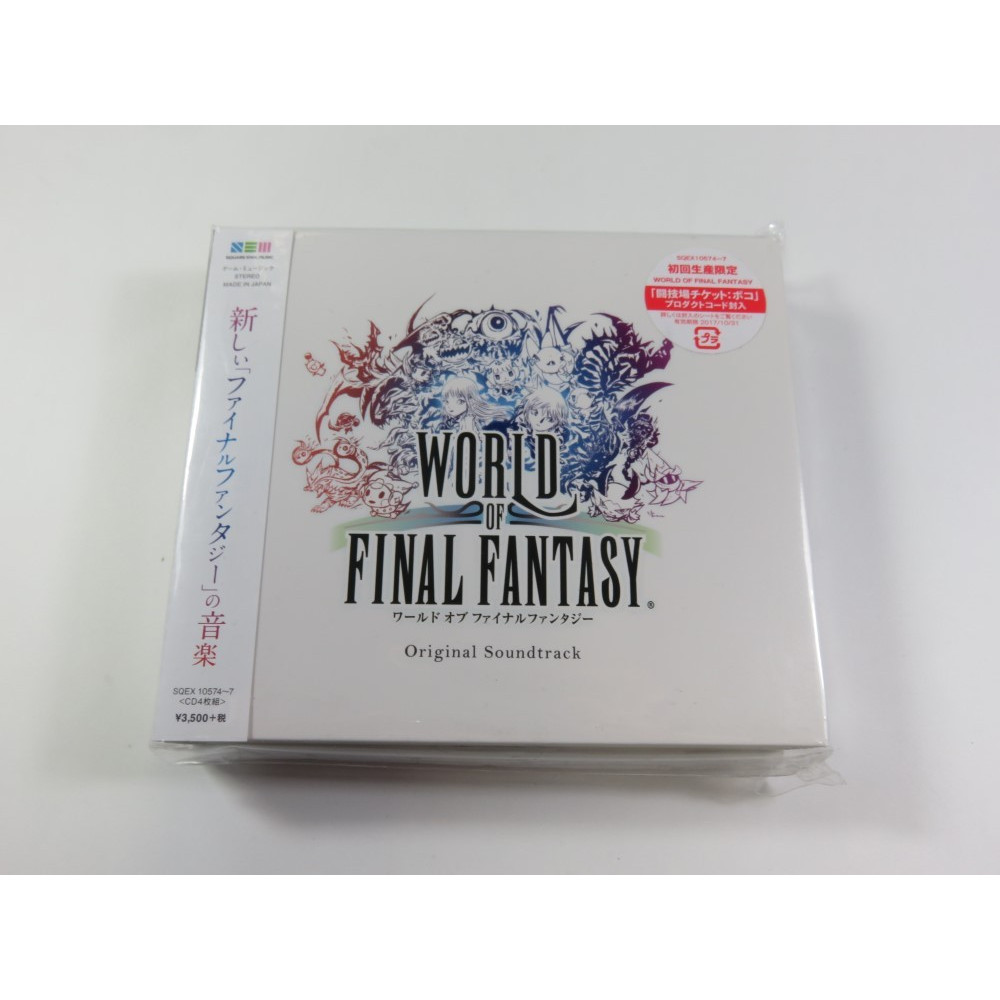 WORLD OF FINAL FANTASY ORIGINAL SOUNDTRACK JPN NEUF - BRAND NEW