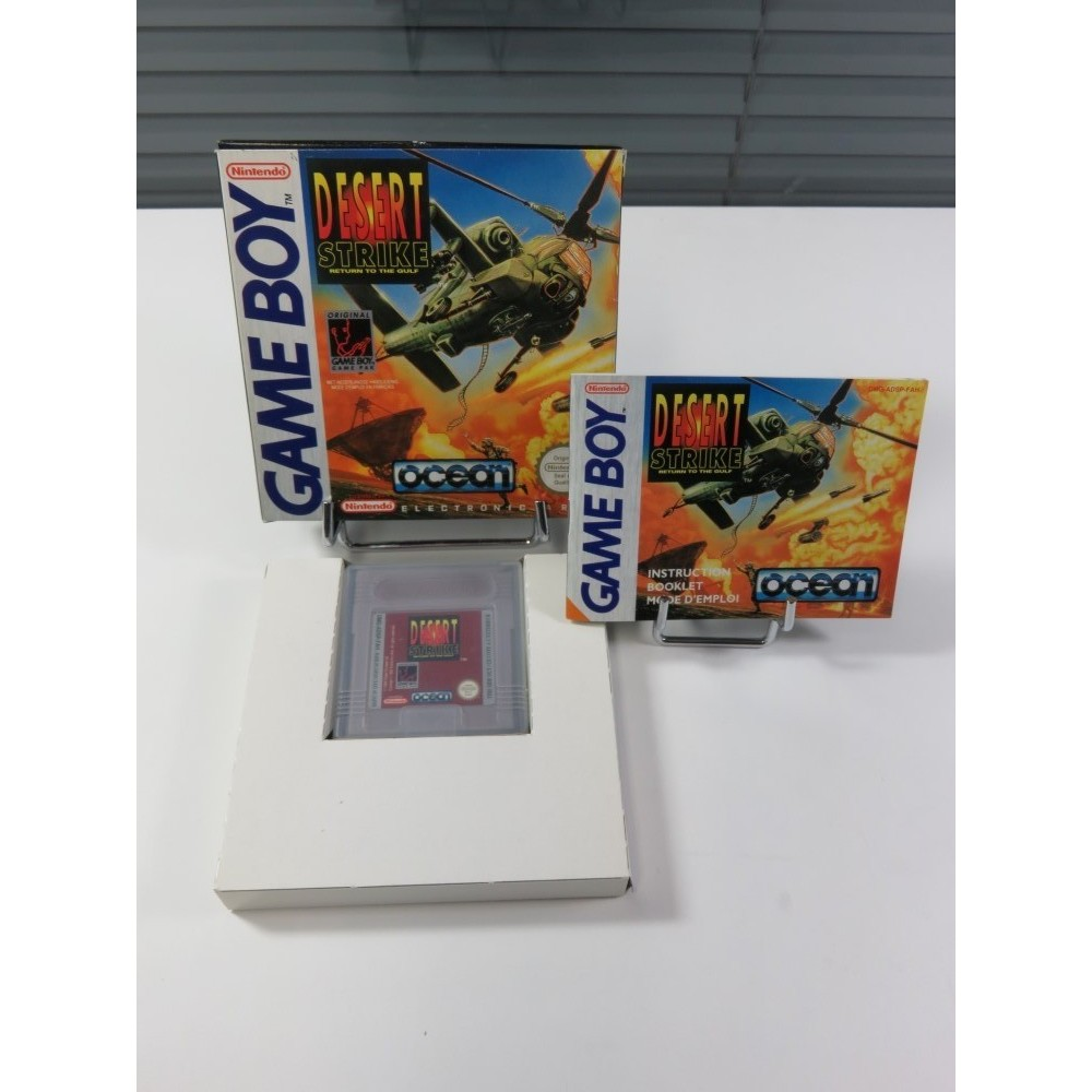 DESERT STRIKE - RETURN TO THE GULF GAMEBOY (GB) FAH (COMPLET - VERY GOOD CONDITION)