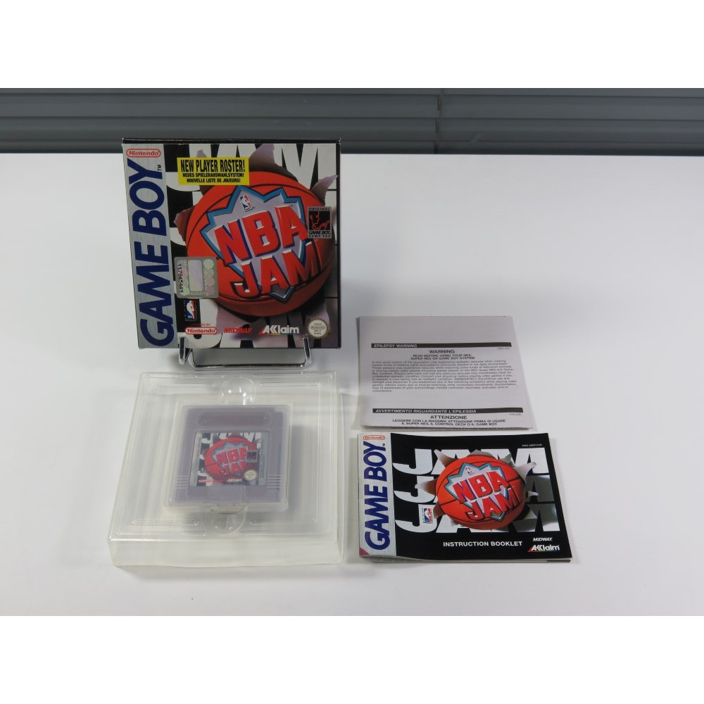 NBA JAM GAMEBOY (GB) EUR (COMPLET - VERY GOOD CONDITION)