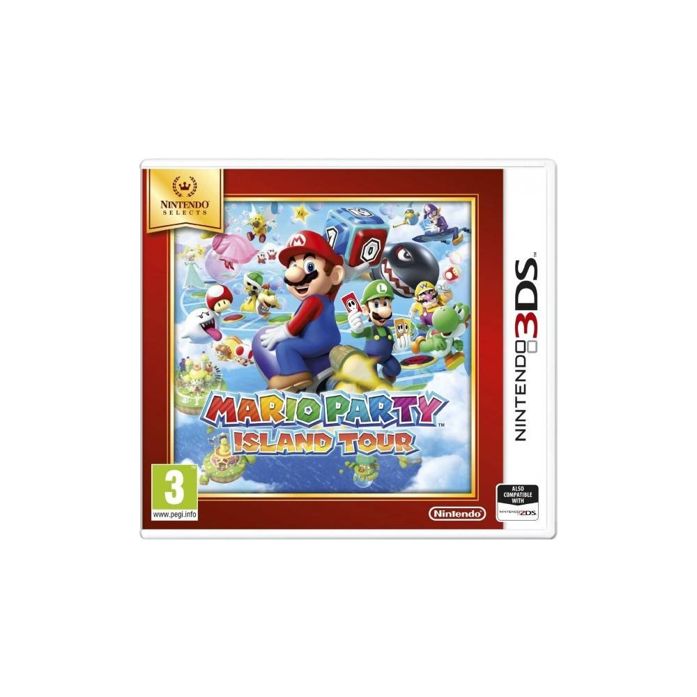NINTENDO SELECT MARIO PARTY ISLAND TOUR 3DS PAL-FR OCCASION