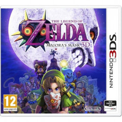 THE LEGEND OF ZELDA MAJORA S MASK 3DS PAL-EURO OCCASION (BUNDLE PACK VERSION)