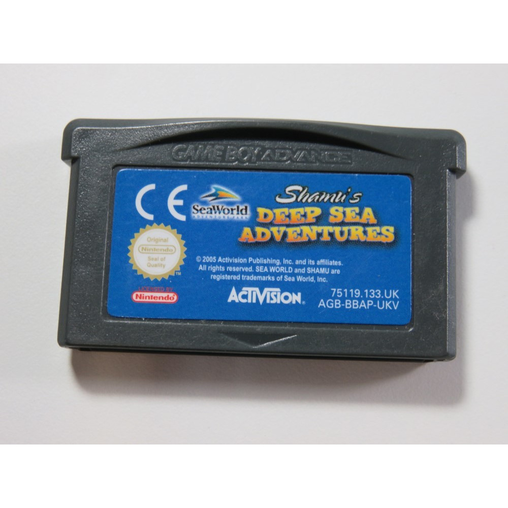 SHAMI S DEEP SEA ADVENTURES GAMEBOY ADVANCE (GBA) UKV (CARTRIDGE ONLY - GOOD CONDITION)