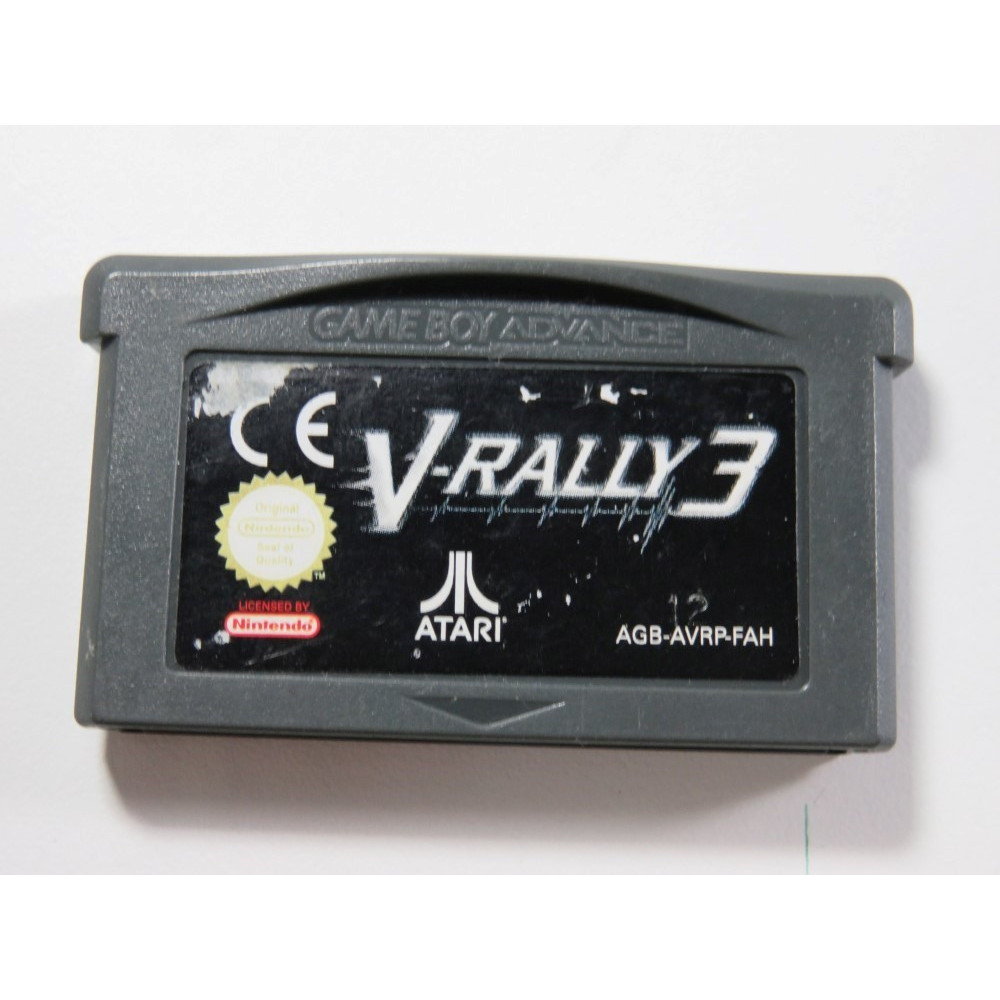 V-RALLY 3 GAMEBOY ADVANCE (GBA) FAH (CARTRIDGE ONLY - GOOD CONDITION)