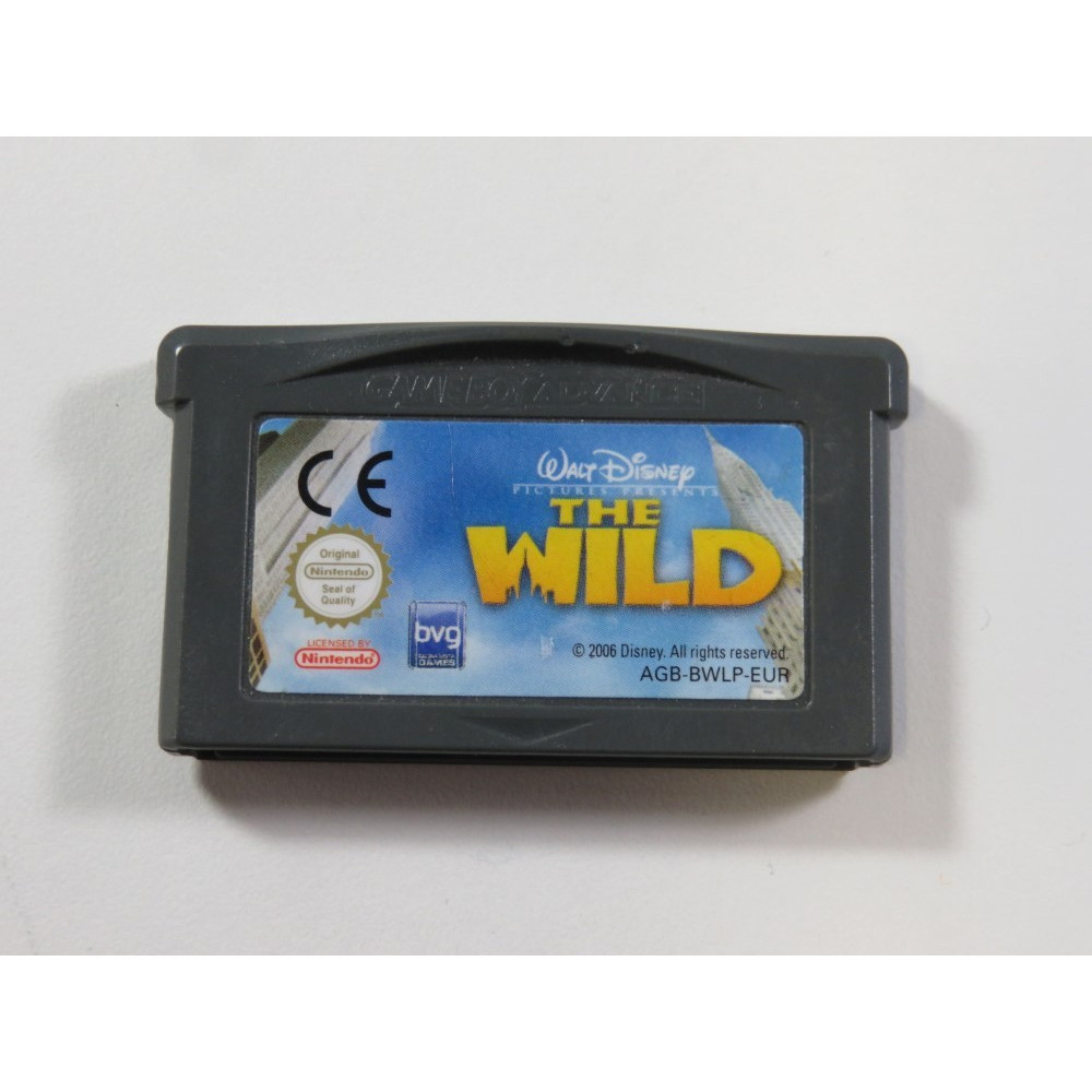 THE WILD - LA VIE SAUVAGE GAMEBOY ADVANCE (GBA) EUR (CARTRIDGE ONLY - GOOD CONDITION)