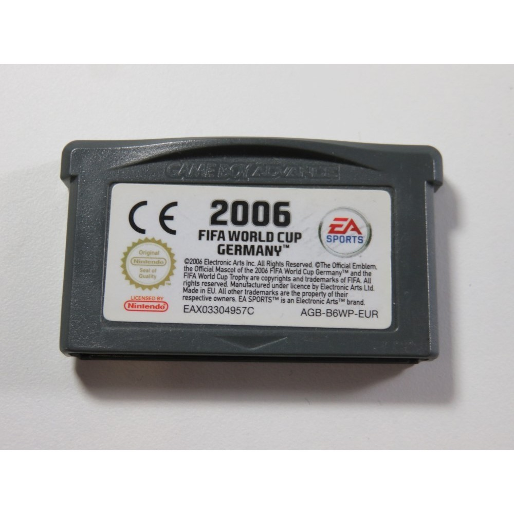 FIFA 2006 WORLD CUP GERMANY GAMEBOY ADVANCE (GBA) EUR (CARTRIDGE ONLY - GOOD CONDITION)