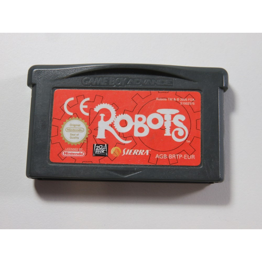 ROBOTS GAMEBOY ADVANCE (GBA) EUR (CARTRIDGE ONLY - GOOD CONDITION)