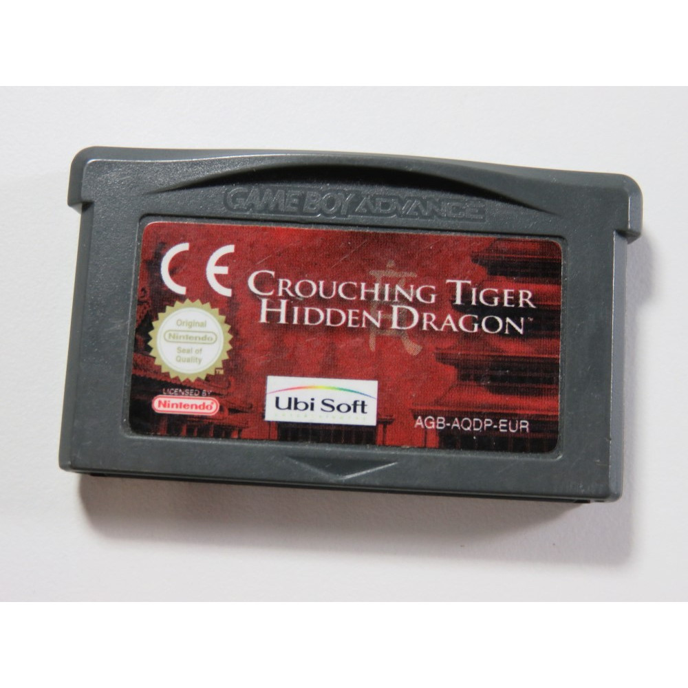 CROUCHING TIGER HIDDEN DRAGON GAMEBOY ADVANCE (GBA) EURO (CARTRIDGE ONLY - GOOD CONDITION)