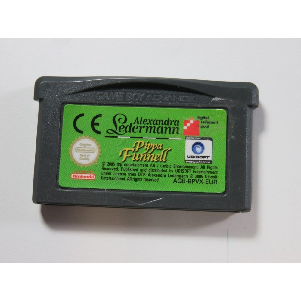 ALEXANDRA LEDERMAN - PIPPA FUNNELL GAMEBOY ADVANCE (GBA) EUR (CARTRIDGE ONLY - GOOD CONDITION)