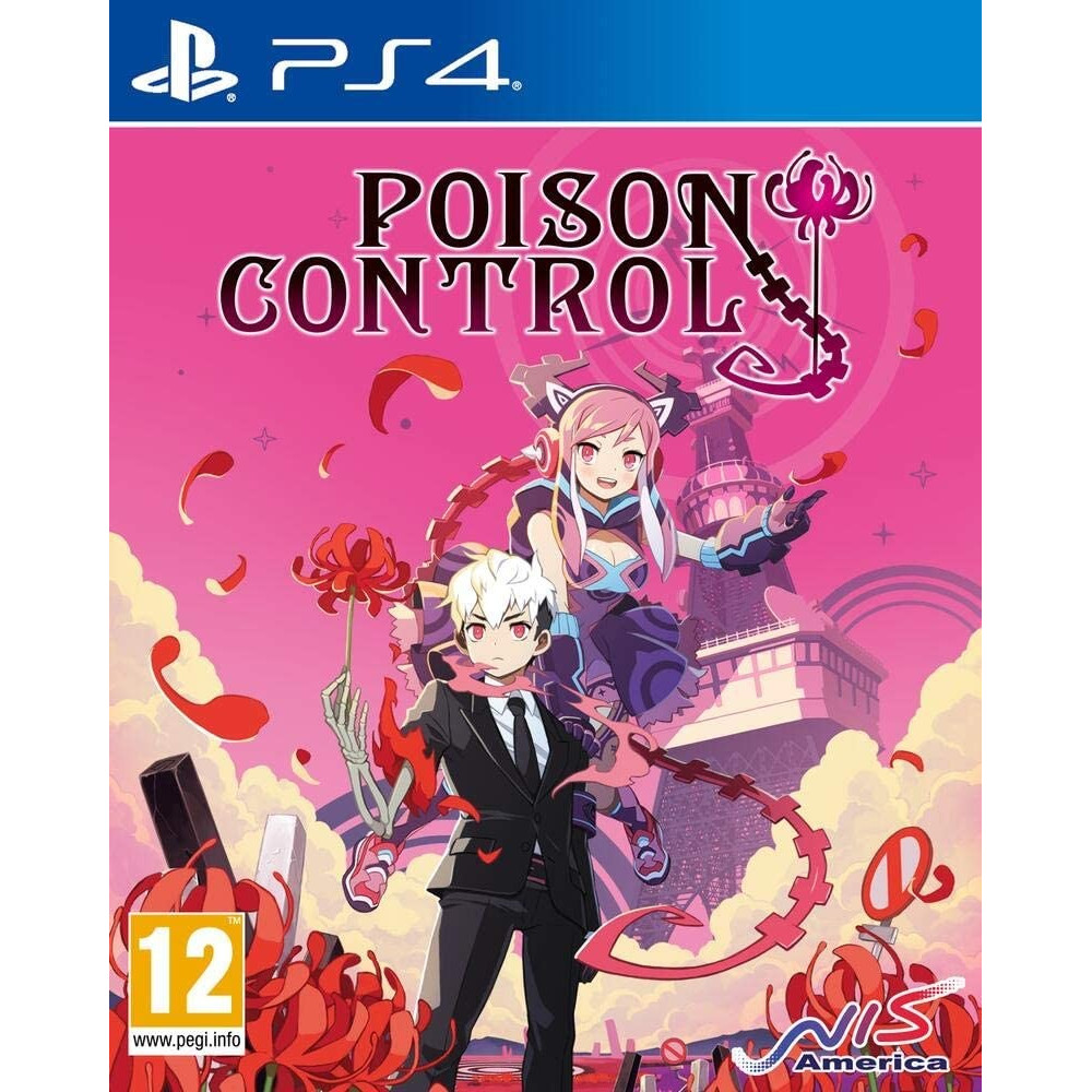 POISON CONTROL PS4 FR (TEXTE EN ANGLAIS) NEW