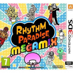 RHYTHM PARADISE MEGAMIX 3DS PAL-FR NEW