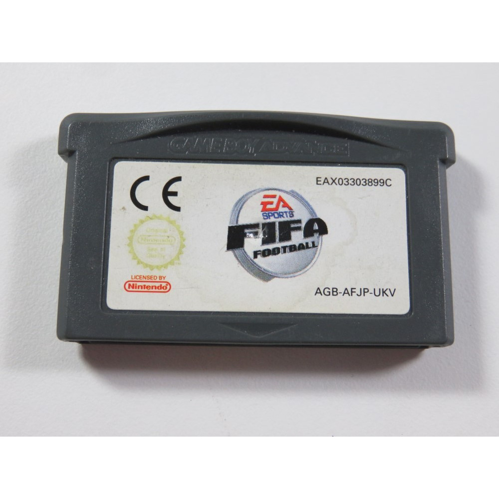 FIFA FOOTBALL GAMEBOY ADVANCE (GBA) UKV (CARTRIDGE ONLY - GOOD CONDITION)