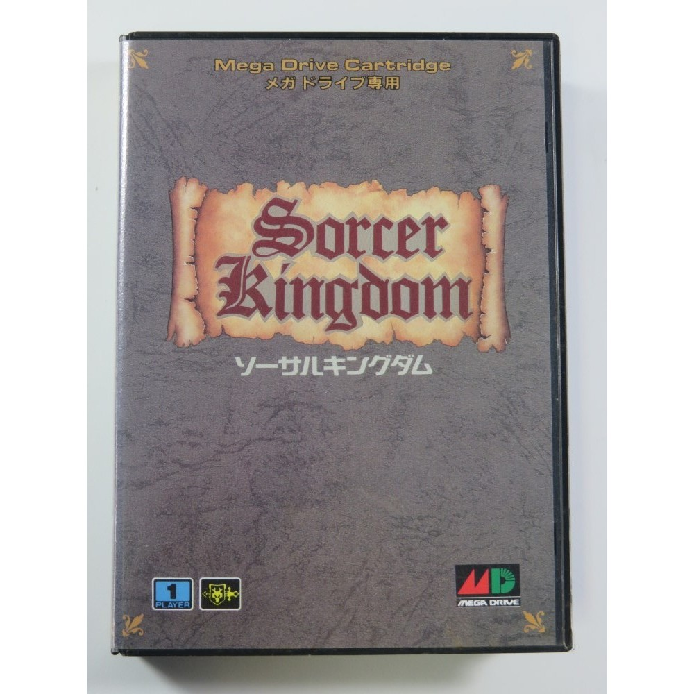 SORCER KINGDOM SEGA MEGADRIVE NTSC-JPN (COMPLETE - GOOD CONDITION OVERALL)