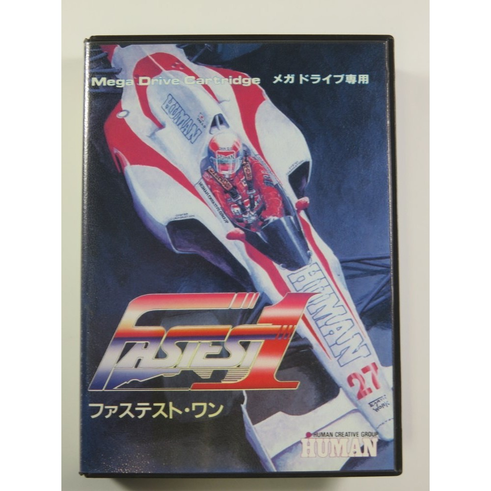 FASTEST 1 SEGA MEGADRIVE NTSC-JPN (COMPLETE WITH REG CARD - VERY GOOD CONDITION)
