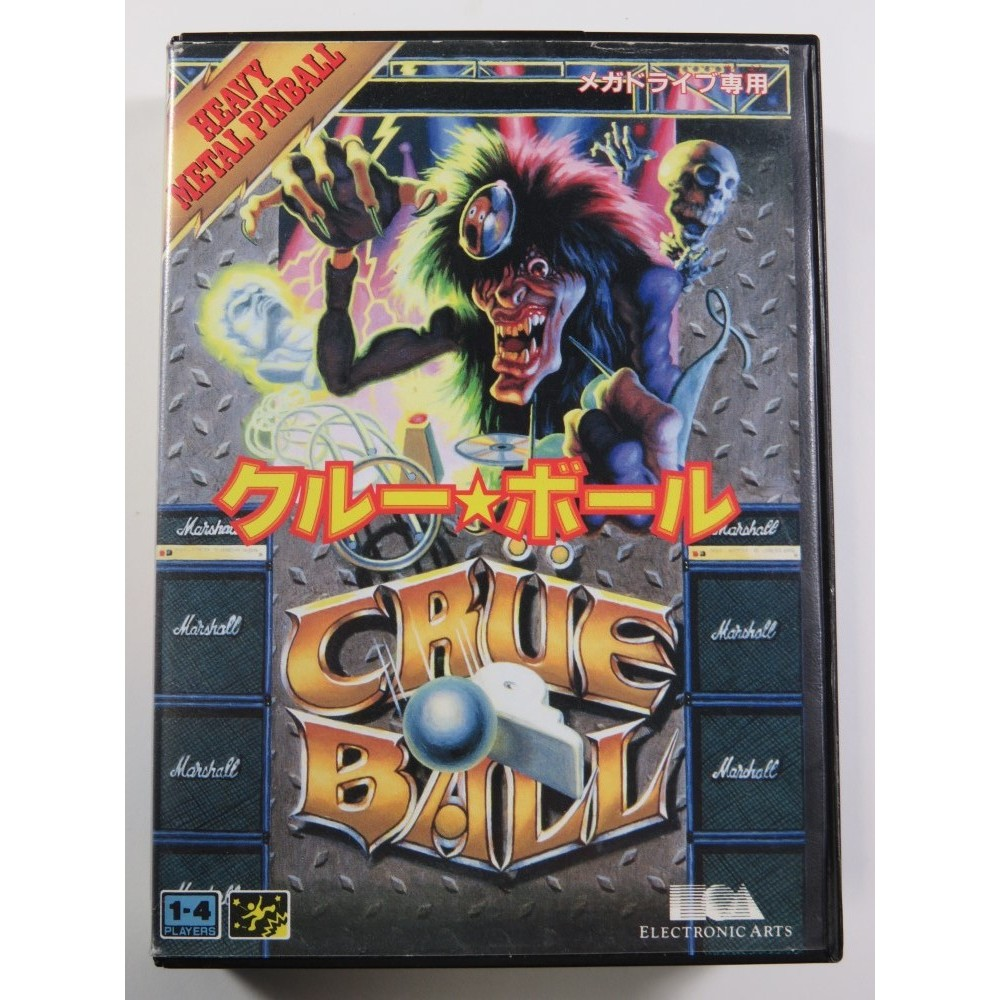 CRUE BALL SEGA MEGADRIVE NTSC-JPN (COMPLETE - GOOD CONDITION)